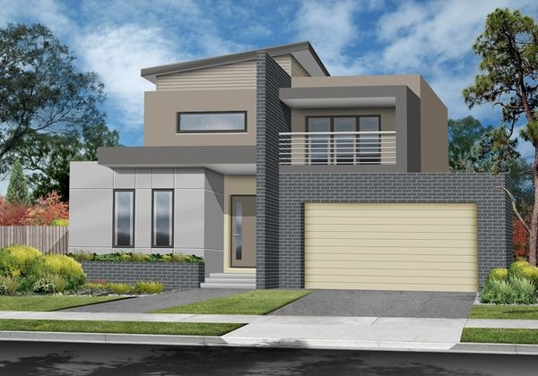 Double Story Modern House Designs images