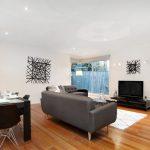 Custom home built on a narrow block of land in Footscray