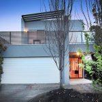 Custom home design for narrow block in Footscray