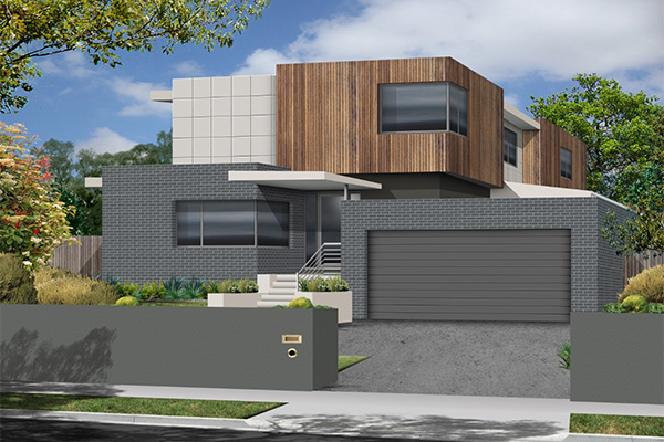 Sloping block house designs newcastle