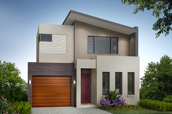 House design narrow block melbourne - Home design and style