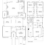 5 Bedroom floor plan for custom built luxury home