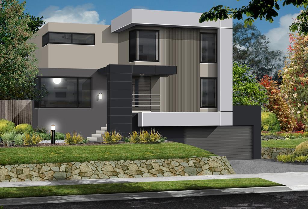 Airlie Custom Built home for Sloping Block