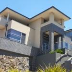 Up slope luxury custom home. built by Renamark Homes in Valley Lake - Niddrie