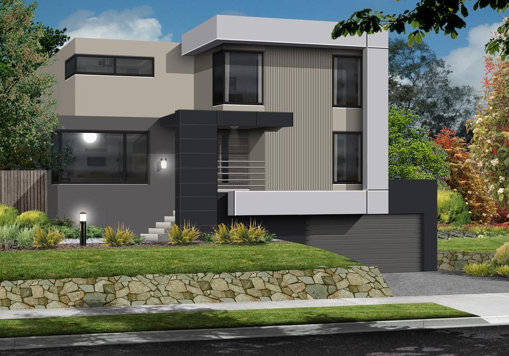Airlie Custom Built home for Sloping Block