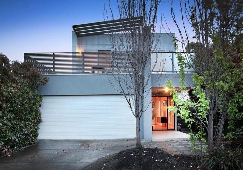 Custom home design for narrow block in Footscray