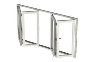 Bi-folding-window