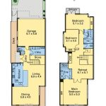 House Floor Plans for 3 bedroom home, double storey built in Maribyrnong
